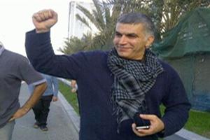 Nabeel Rajab, Bahraini human rights activist, Bahrain, 2012.