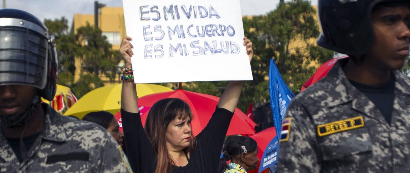 Dominican Republic takes women's rights back to 1884