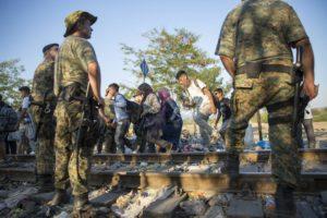Refugees and Migrants Macedonian Border