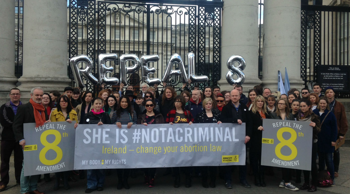 Amnesty International Ireland welcomes government's legislative framework for access to abortion