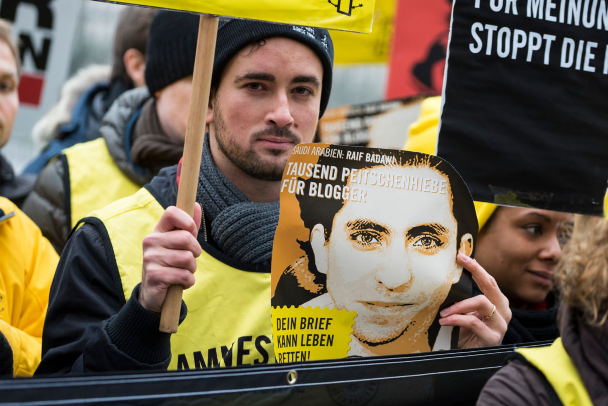 We will continue to campaign until all prisoners of conscience in Saudi Arabia are released