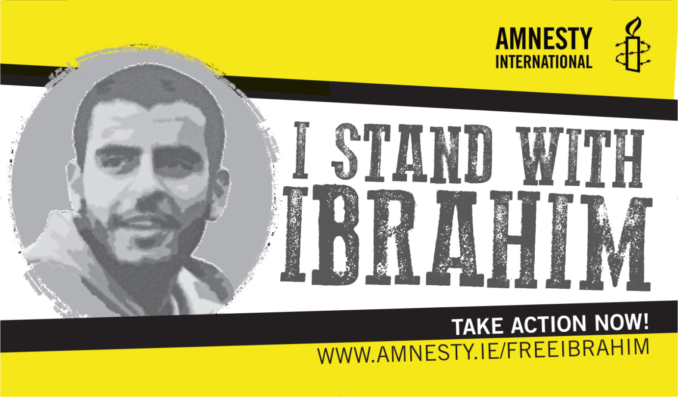 Ibrahim Halawa must be immediately and unconditionally released
