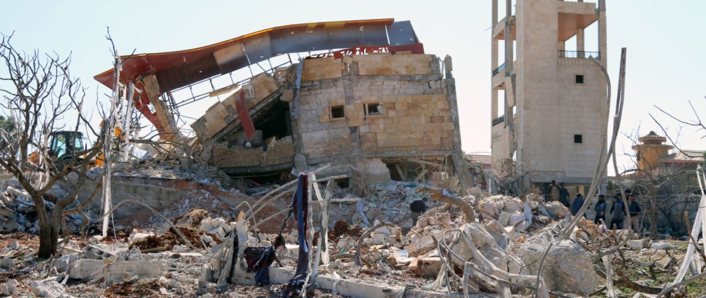 Russian and Syrian forces must end deliberate attacks on hospitals