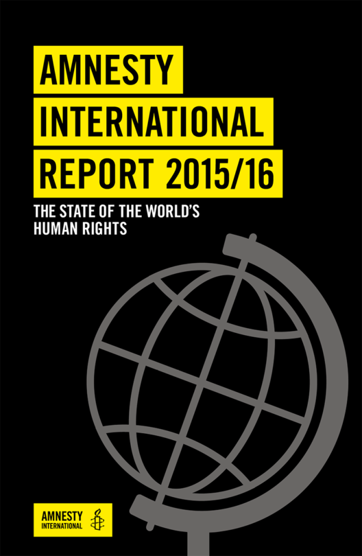 Amnesty International Annual Report 2015 2016 Cover Image