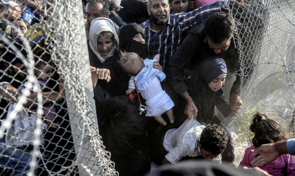 Syrians Refugees Turkey Injured Civilians