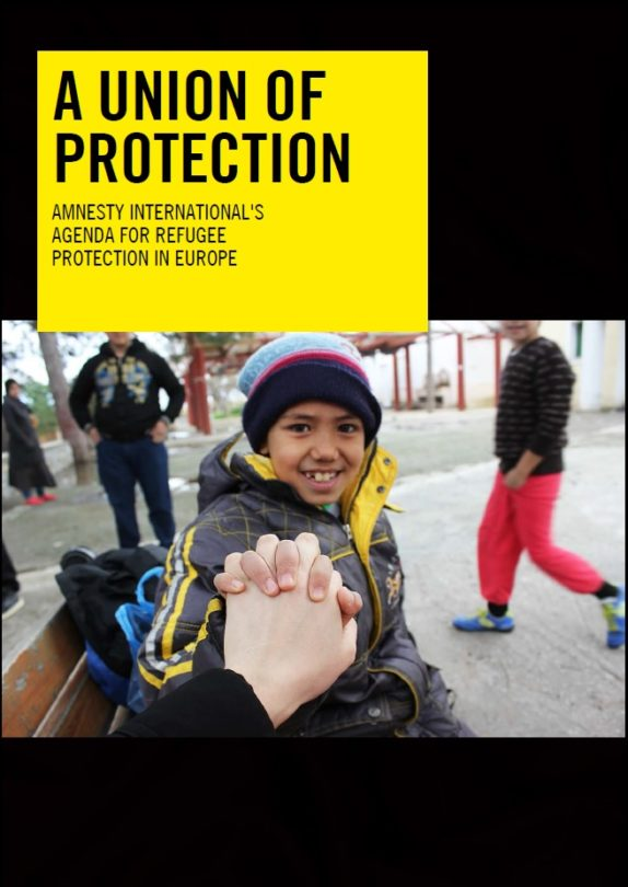 A Union Of Protection - AI Agenda for Refugee Protection in Europe