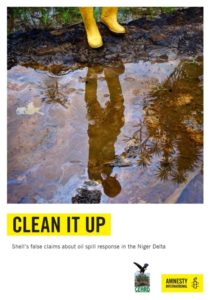 CLEAN IT UP Shell's false claims about oil spill response in the Niger Delta
