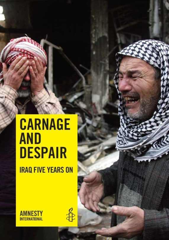Carnage and Despair Iraq five years on