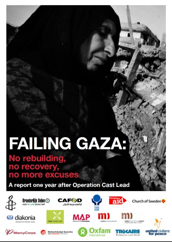 Failing Gaza No rebuilding, no recovery, no more excuses