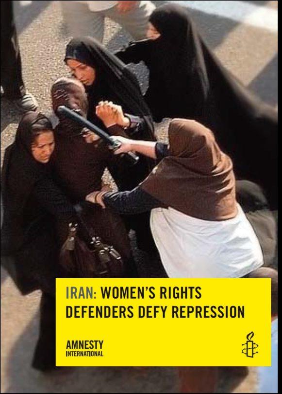 IRAN Women's rights defenders defy repression