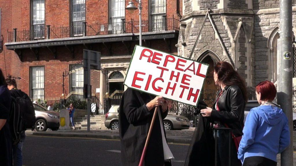 Repeal the eighth amendment Ireland