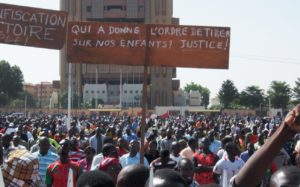 Burkina Faso protests