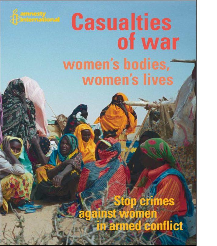 Casualties of war women's bodies, women's lives
