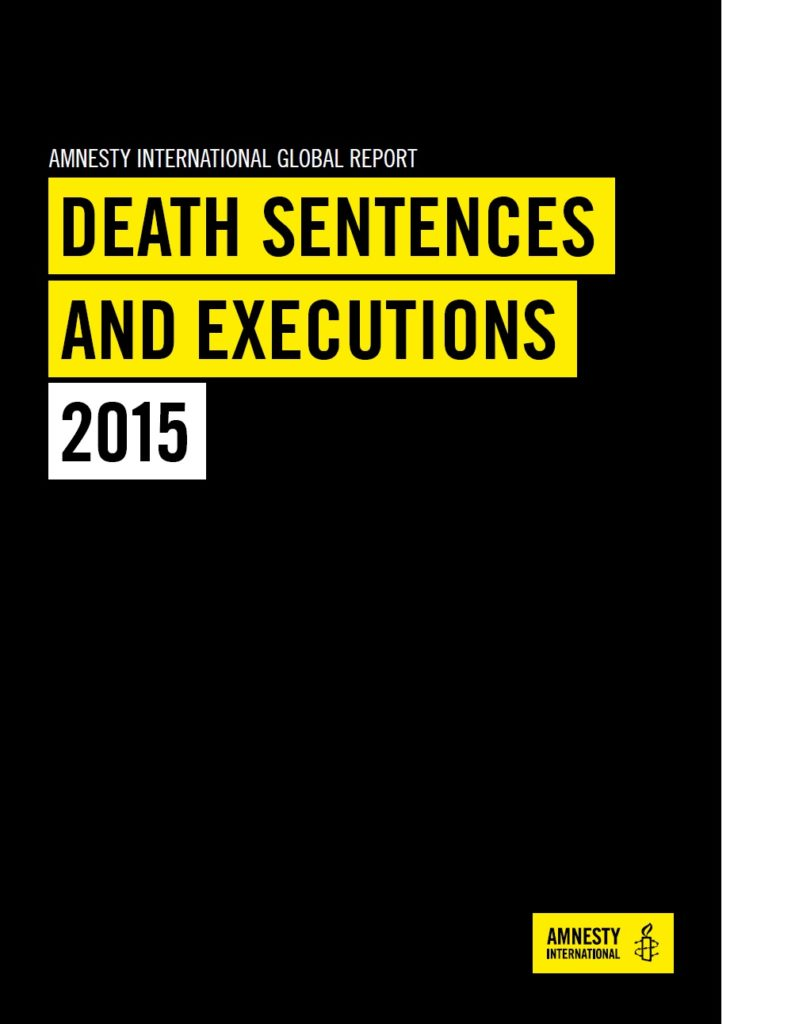 Death Sentences and Executions 2015