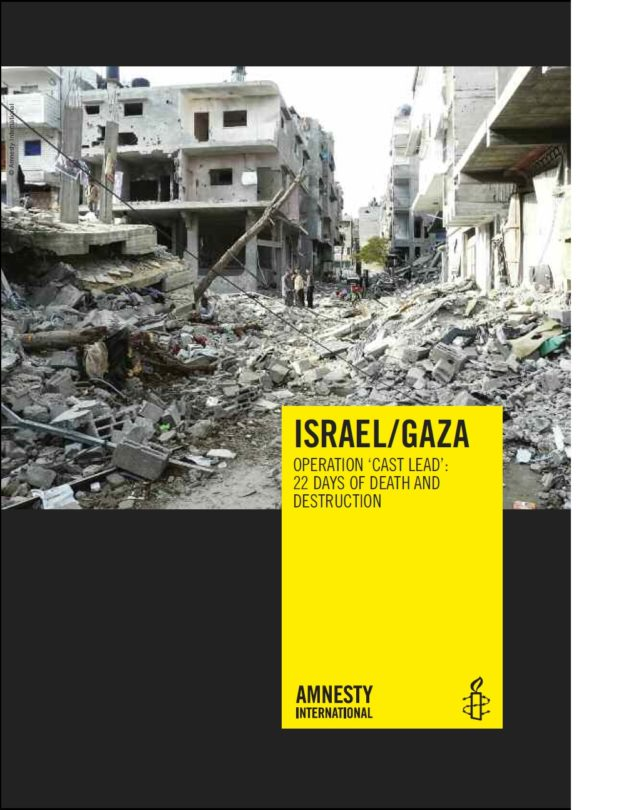 IsraelGaza Operation Cast Lead 22 days of death and destruction