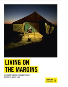 Living on the Margins Syrian Refugees in Jordan