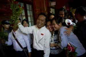 Student activists freed