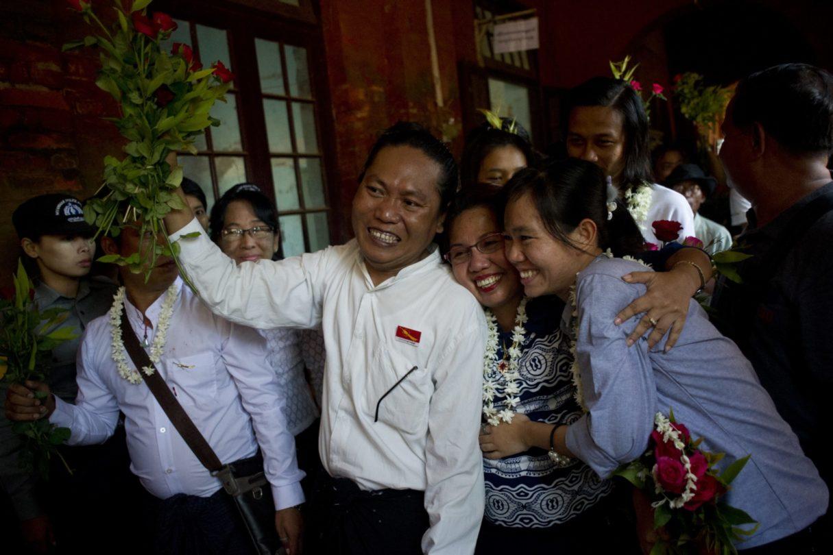 Myanmar: Student Activists Freed