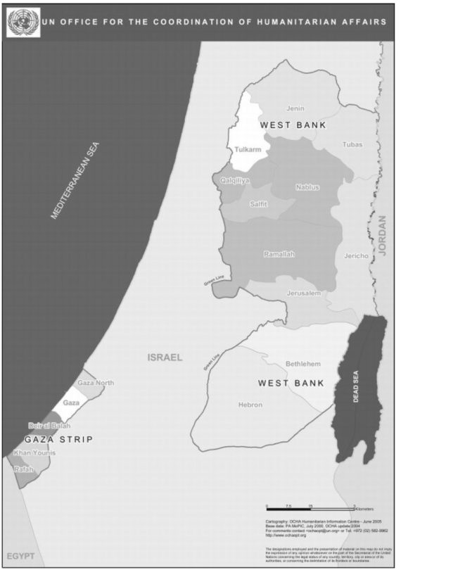 Occupied Palestinian Territories Torn apart by factional strife
