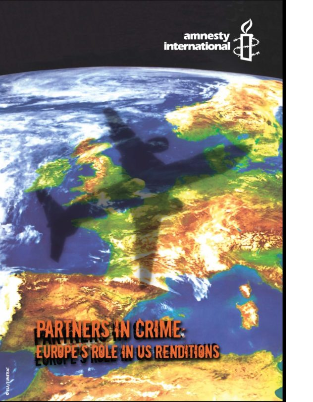 Partners in crime Europe's role in US renditions