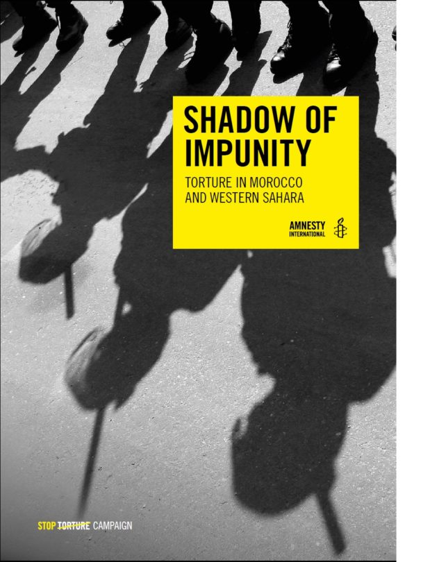 SHADOW OF IMPUNITY TORTURE IN MOROCCO AND WESTERN SAHARA