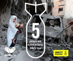 5 killed every hour