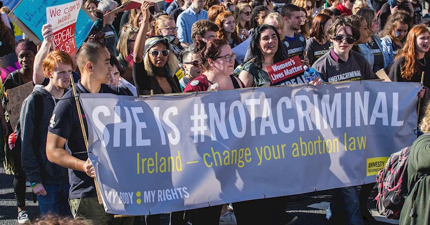 UN Ruling Ireland's abortion ban