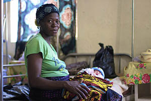 Activist Fatou Wurie talks about her personal experiences of maternal health