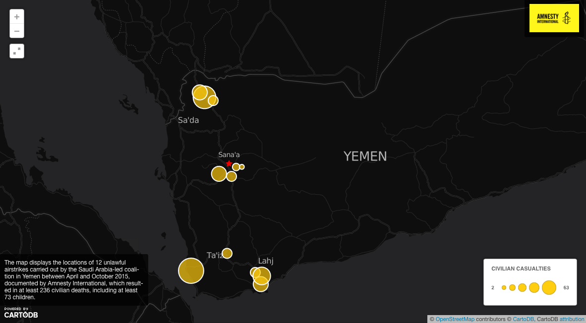 Yemen: Reckless arms flows decimate civilian life a year into conflict