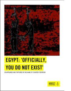 Egypt Disappearances