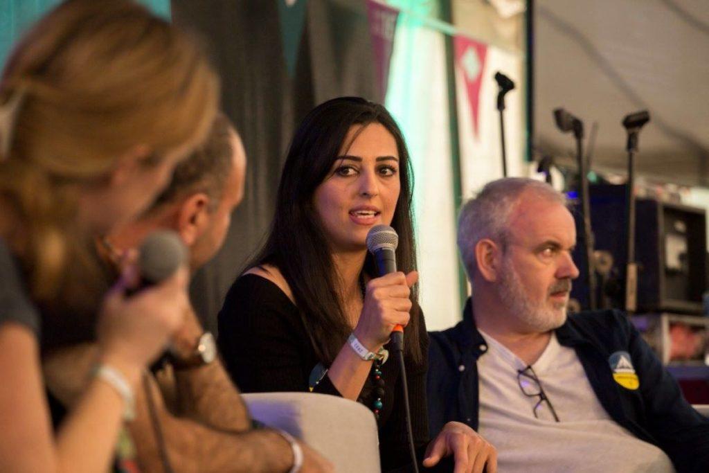 Razan Ibraheem at Electric Picnic 2016
