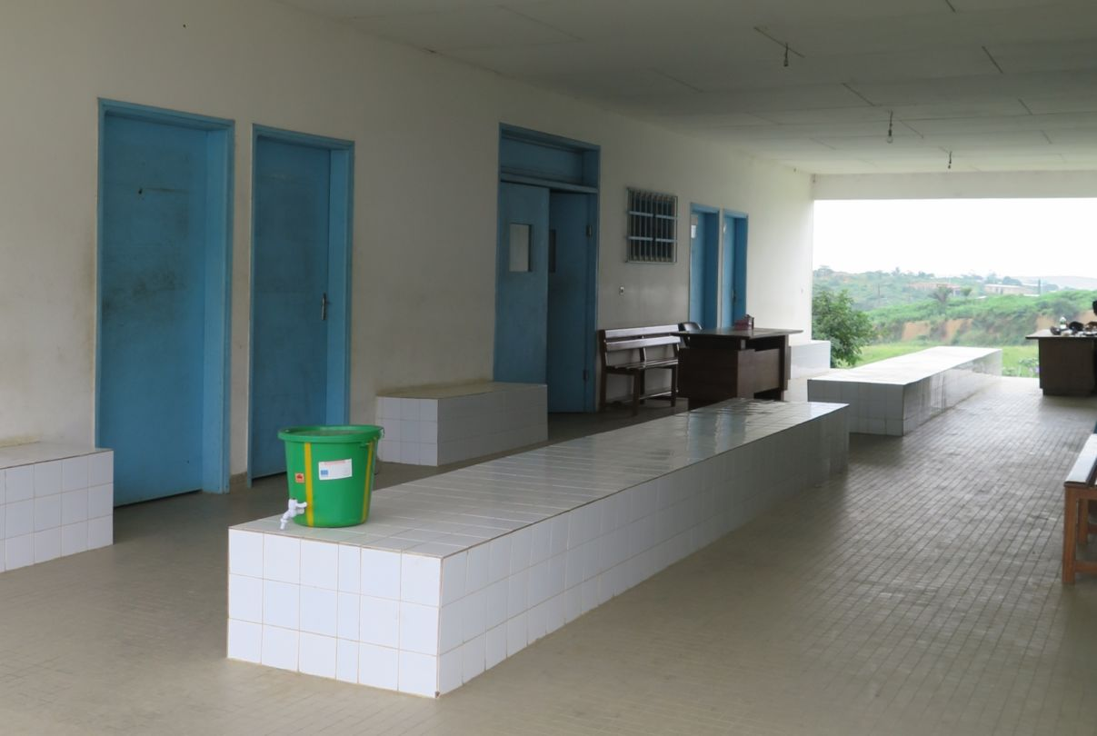 Health centre at Djibi village (July 2016)