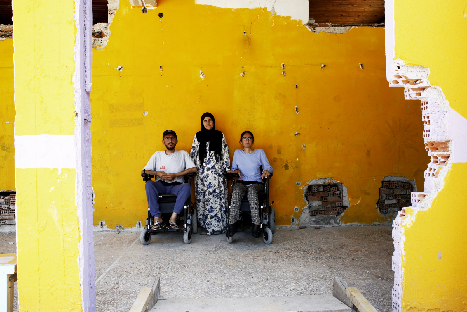Fleeing Syria as a refugee is tough. Now imagine doing it in a wheelchair