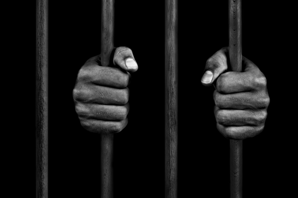 Stock Image - Prison Bars