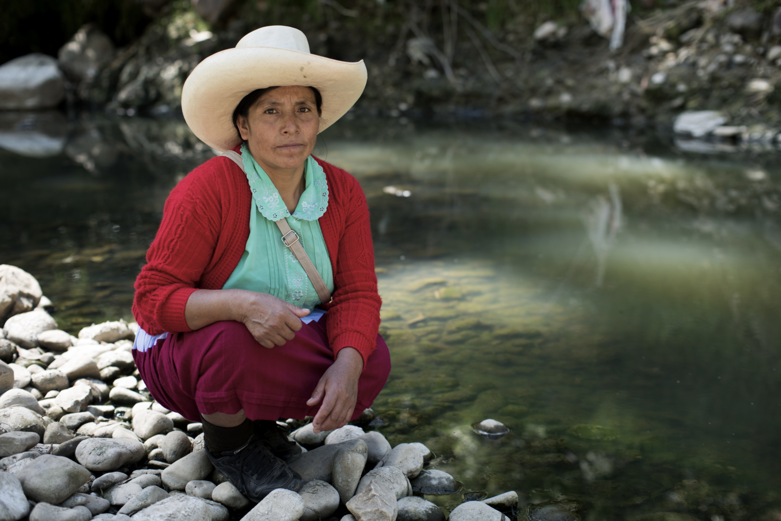 Peru: Peruvian authorities put an end to the criminalisation of defender Máxima Acuña