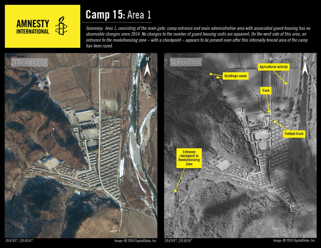 Camp No. 15 Area 1 © 2016 DigitalGlobe, Inc.