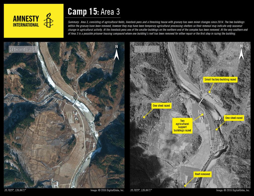 Camp No.15 Area 3 © 2016 DigitalGlobe, Inc.