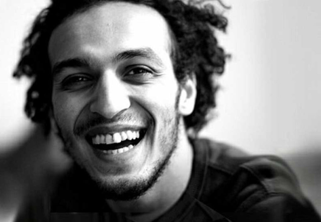 Graphic for the Write for Rights 2016 campaign, which  Shawkan's case features in.