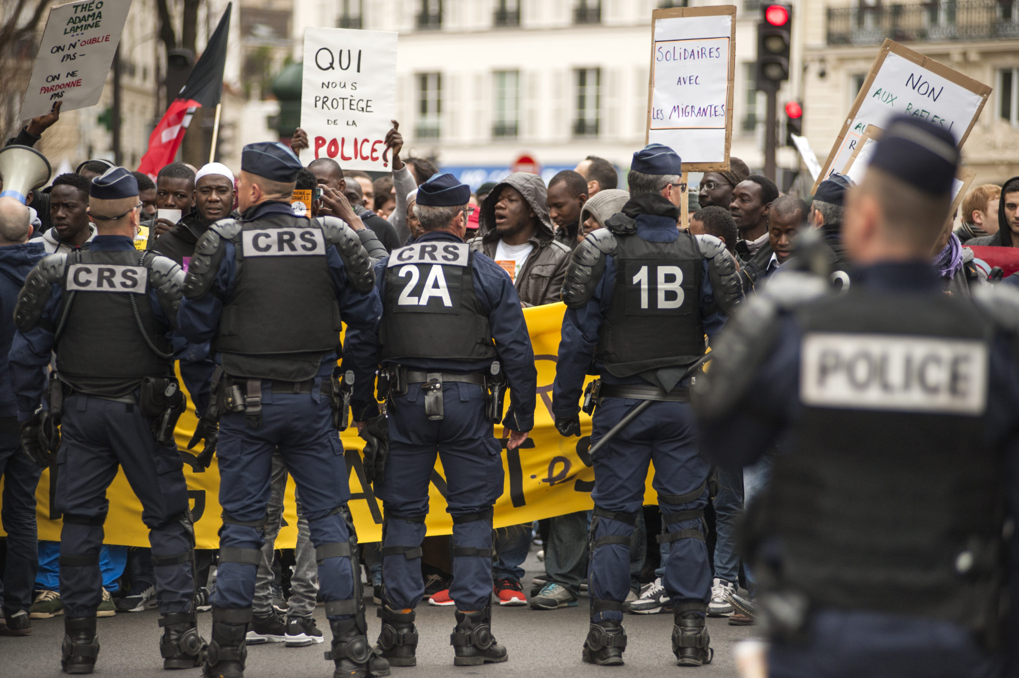 A right not a threat: Disproportionate restrictions on demonstrations under the State of Emergency in France