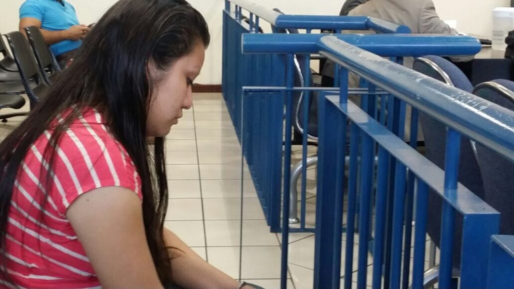 """Evelyn Beatriz Hernandez Cruz was admitted to a health centre in Cojutepeque, north of San Salvador, on 6 April 2016 after she fainted at home. She was in labour but unaware she was pregnant. Local organizations say Evelyn had been raped months earlier but that she had not reported it to the authorities due to fear. Staff at the hospital reported Evelyn to the authorities. On 6 April 2017 she was sentenced to 30 years in prison on charges of """"aggravated homicide"""" under El Salvador's extreme anti-abortion law."""