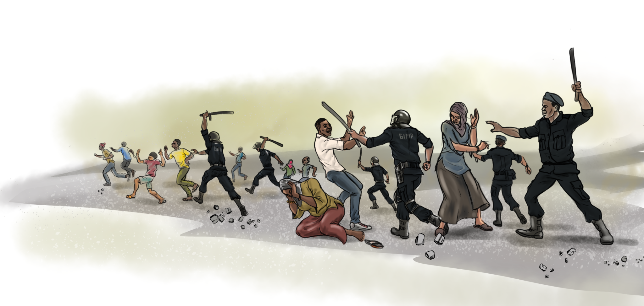 Between repression and recession. The rising cost of dissent in Chad