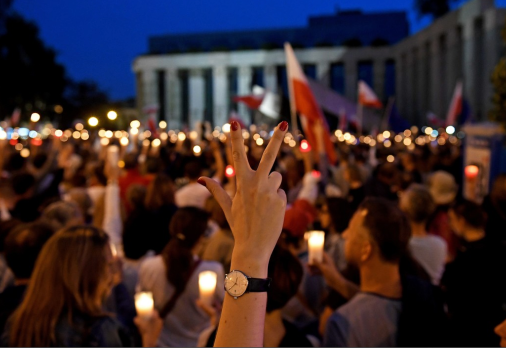 Poland: On the streets to defend human rights