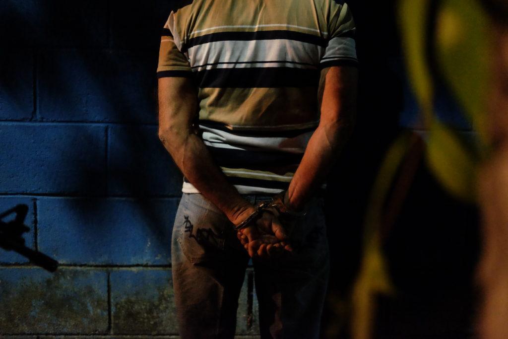 244710_Detained person in El Salvador