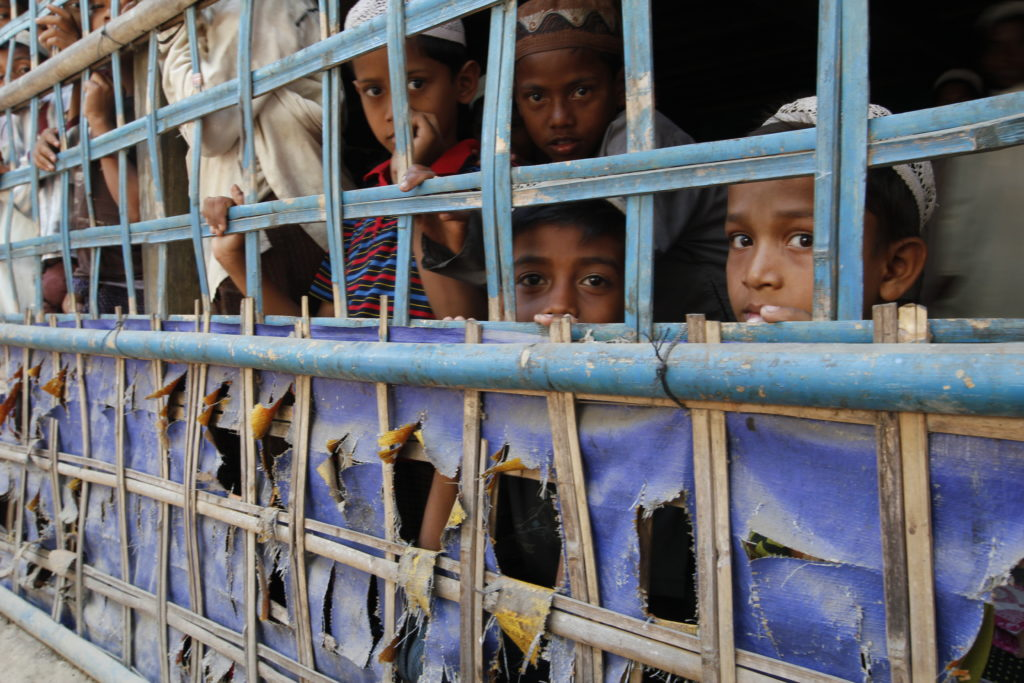 244890_Rohingya Children in Rakhine State