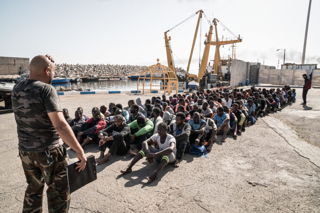 Libya - Refugees Detention