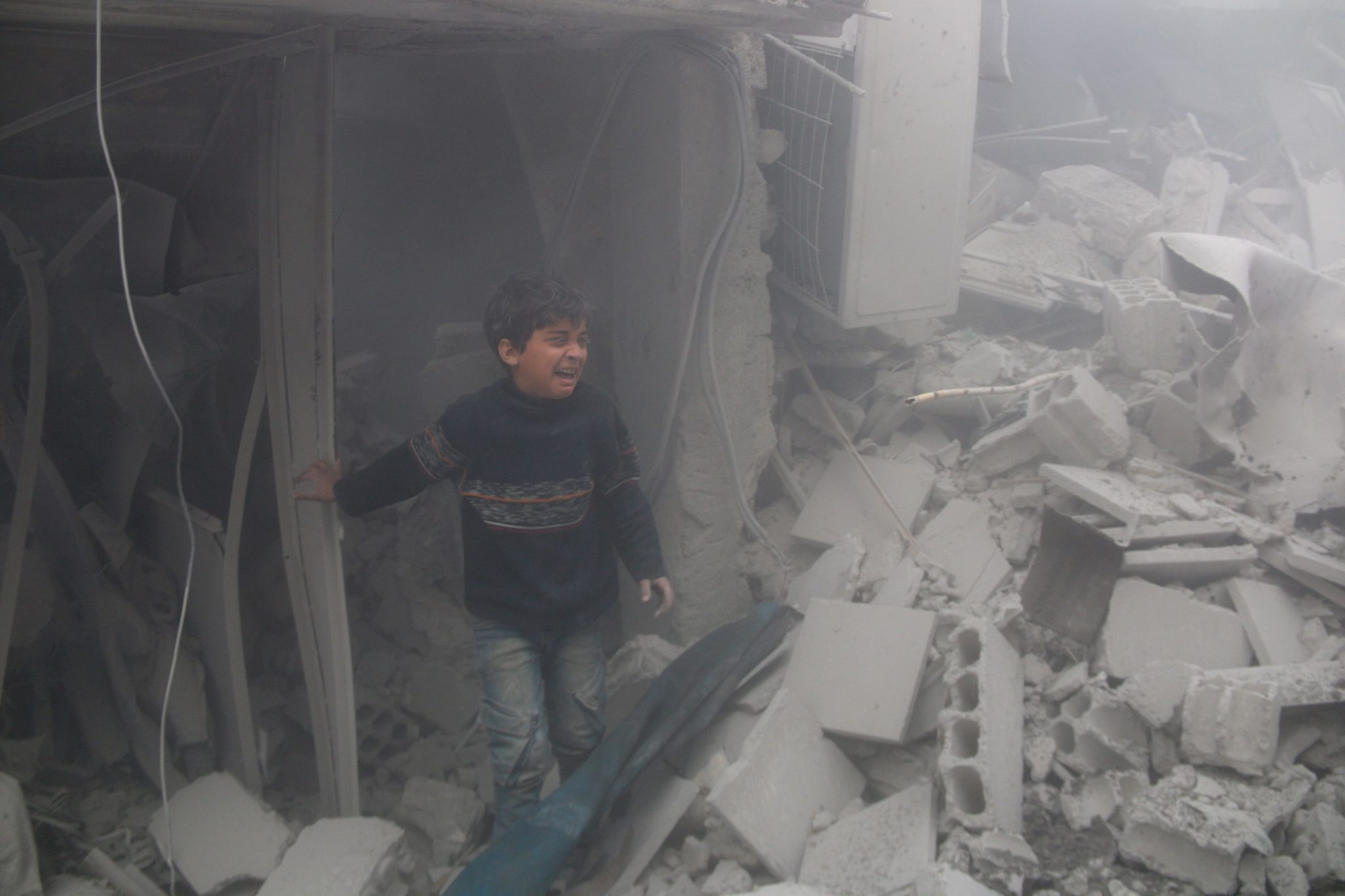 Stop the bombing of people in Eastern Ghouta Syria