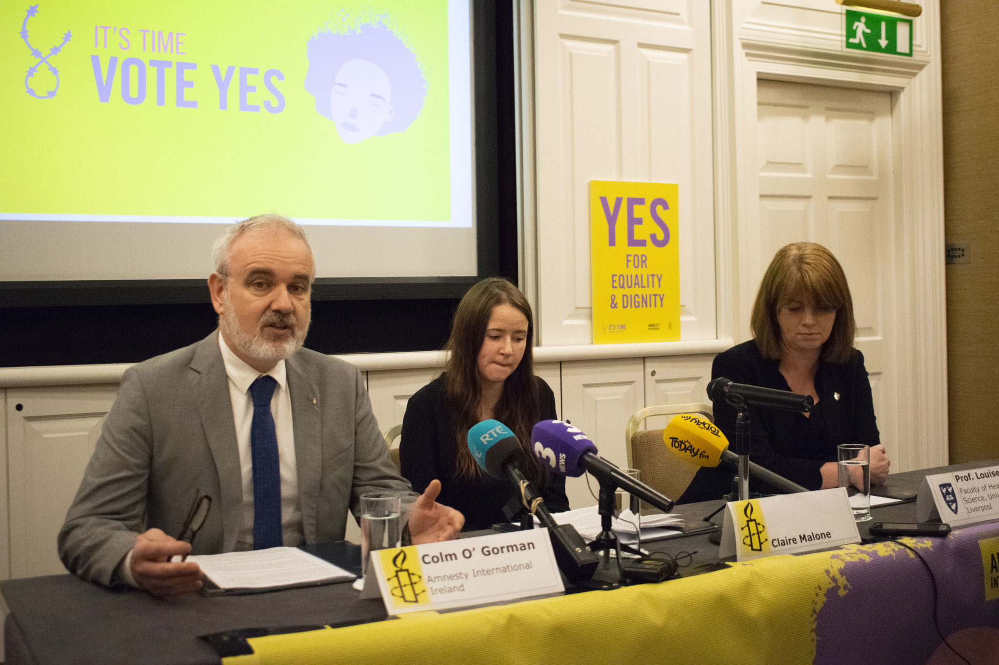 Amnesty presents powerful first-hand testimony showing the Eighth Amendment harms pregnant women's health