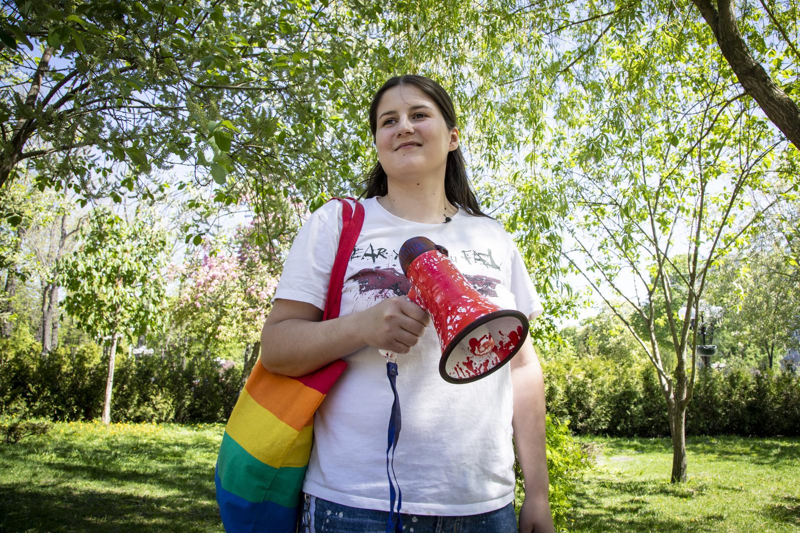 Protect Ukrainian activist Vitalina Koval