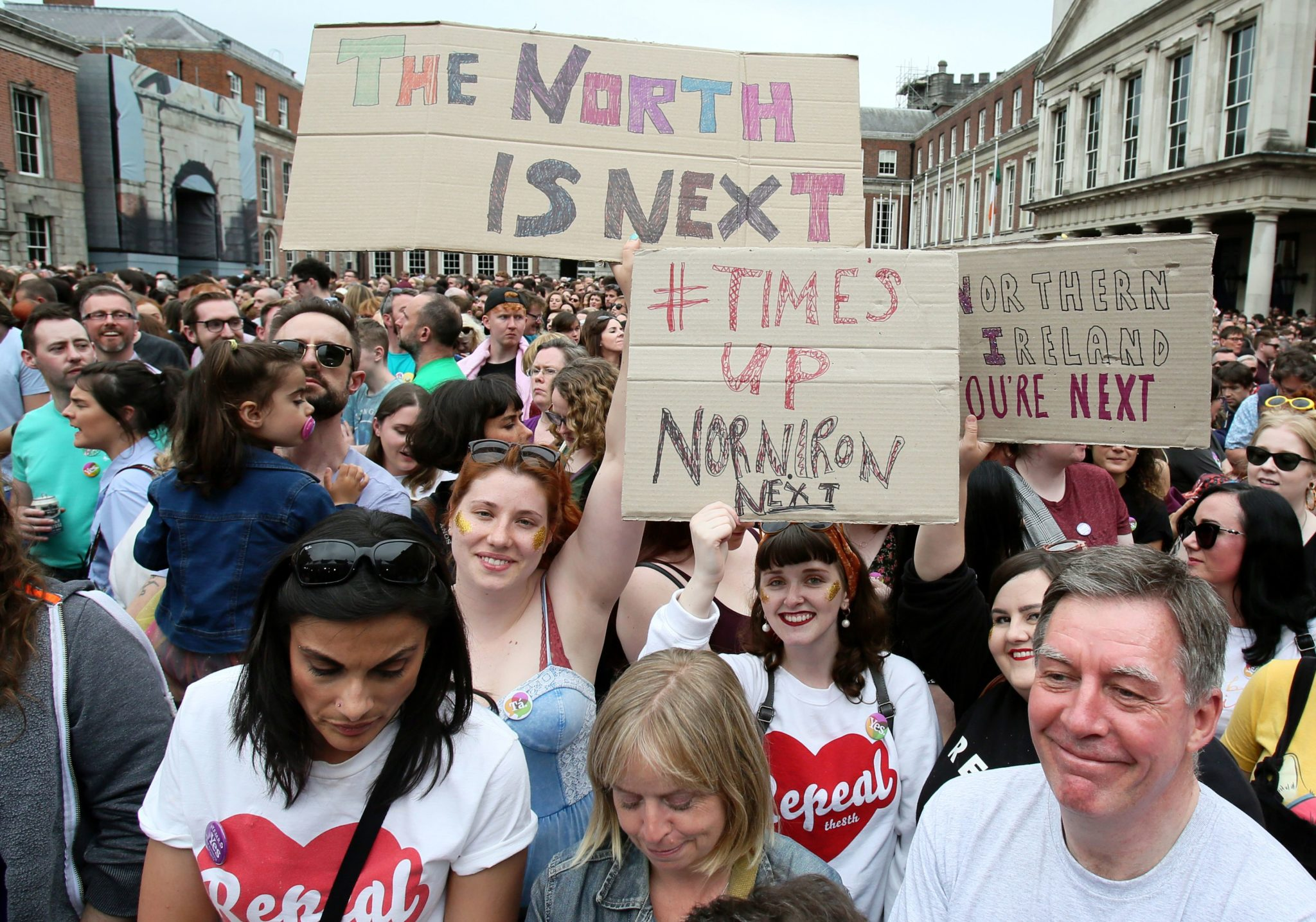 Northern Ireland: MPs and Peers must 'make history' and lift abortion ban this week