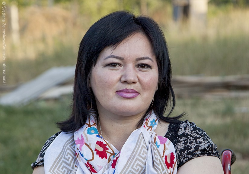 Kyrgyzstan: Gulzar Duishenova refuses to be silenced. Let's support her today